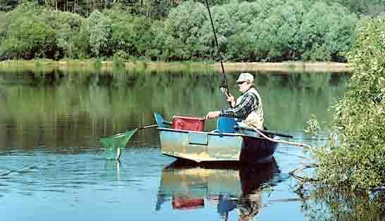 ловля риби на дніпрі